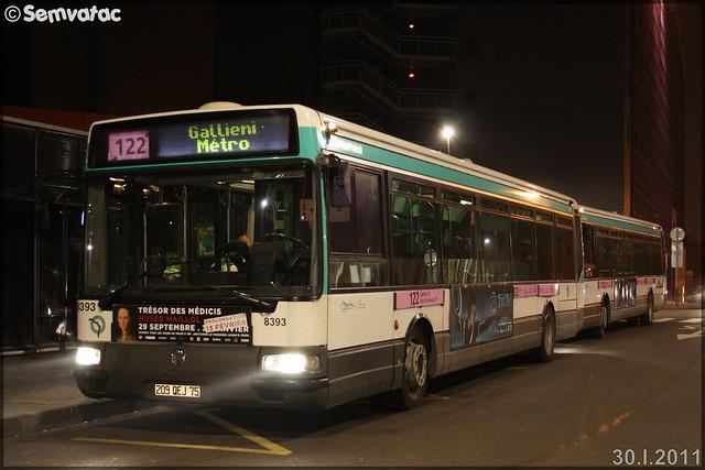Irisbus Agora Line – RATP (Régie Autonome des Transports Parisiens) / STIF (Syndicat des Transports d'Île-de-France) n°8393