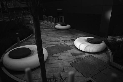 zen garden for an office block``HBM
