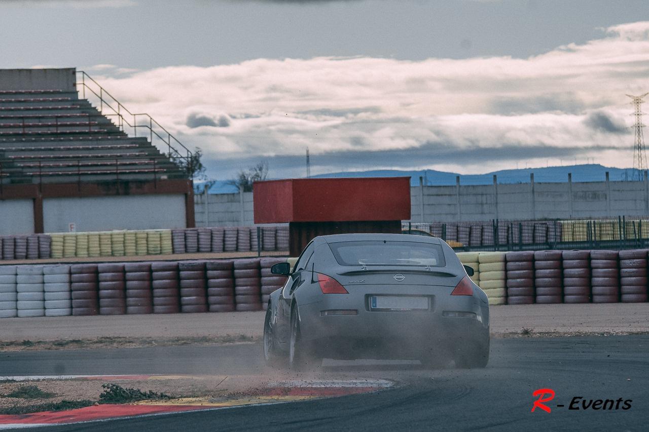 Nissan 350z Circuito de Albacete