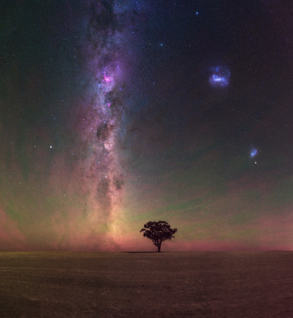 Summer Milky Way at Beverley, Western Australia