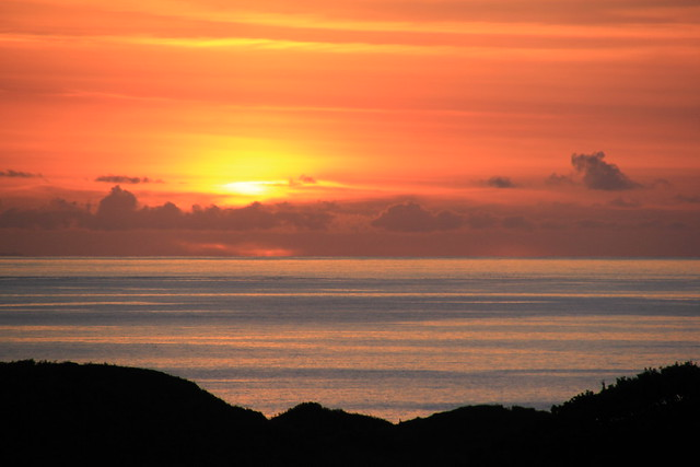 Sunset over The Western Isles, Highlands, Scotland.