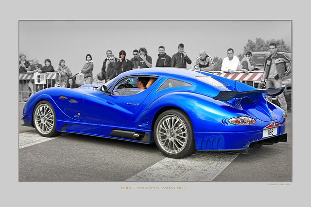 Antas V8 GT Faralli Mazzanti Mille Miglia (c) 2020 Bernard Egger :: rumoto images 3304 cc