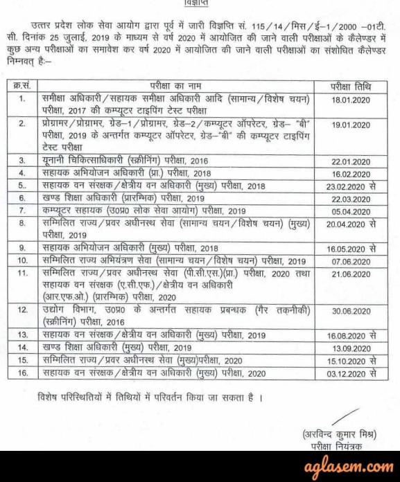 UPPSC Recruitment UPPSC Recruitment 2020 - Uttar Pradesh Public Service Commission
