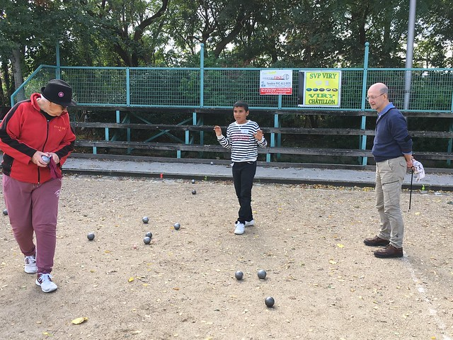 Tournoi intergénérationnel de pétanque - octobre 2019