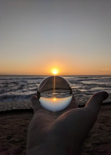 crystal sunset sunsettreasurebeach treasurebeachjamaica treasurebeach jamaica caribbeanocean caribbean waves ocean dusk sundown lensball