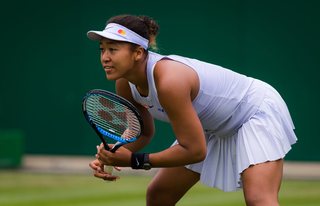 Naomi Osaka | Naomi Osaka of Japan in action during her firs… | Flickr