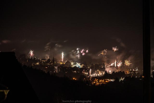 Neckargemünd New Year's Fireworks - January 2020