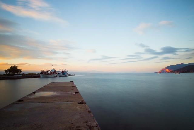 Küste am Pilion, Griechenland