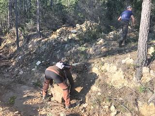 Operata du 11/01/2020 : travaux sur le sentier de raccordement I Scarpi