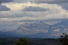 Montserrat des de Mas d'en Coll