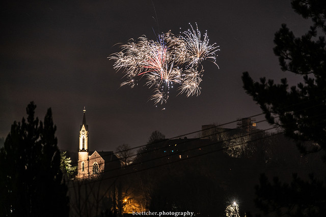 Dilsberg New Year's Fireworks - January 2020 II