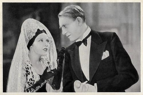 Anny Ondra and Mathias Wieman in Fraulein Hoffmanns Erzählungen (1933)