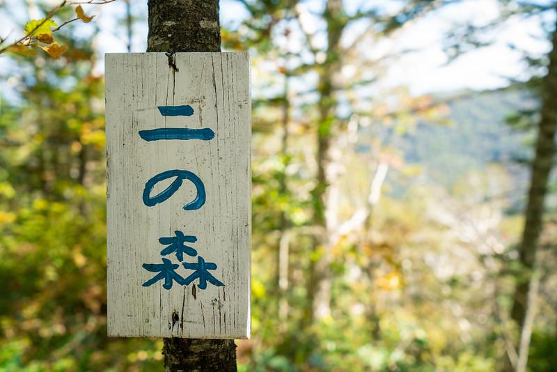 剣山の二の森