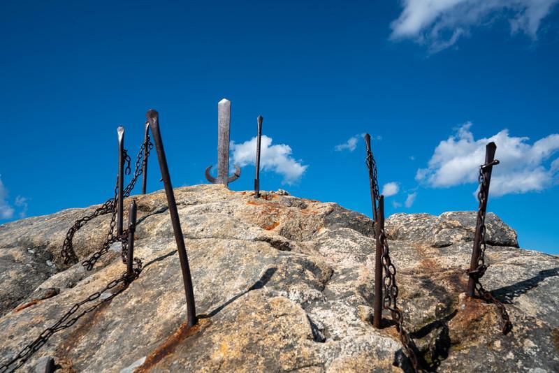 霊峰剣山の山頂