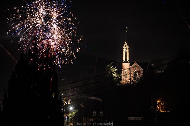 Dilsberg New Year's Fireworks - January 2020 I