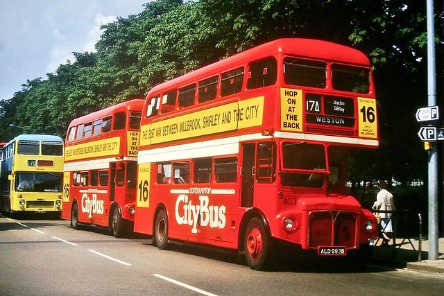 403 ALD993B (ex RM1993) --- Southampton 22-8-87