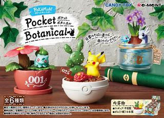 寶可夢+觀葉植物的雙倍療癒!RE-MENT《精靈寶可夢》新食玩「ポケットモンスター Pocket Botanical」