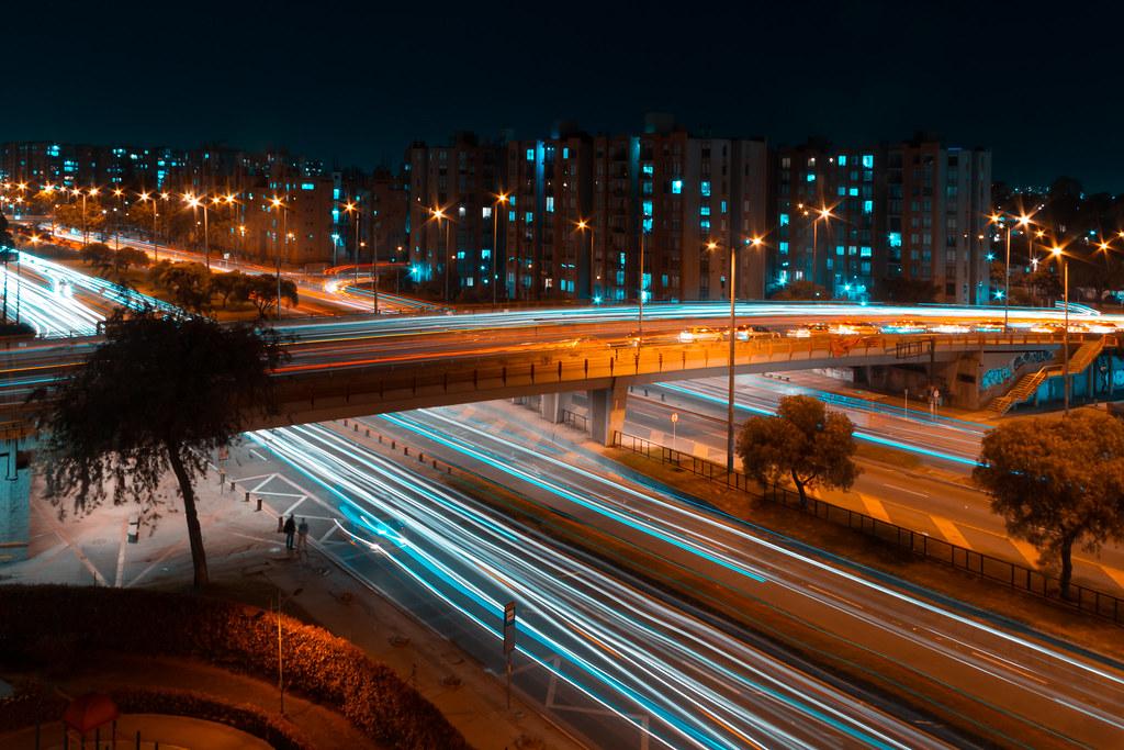 Light Trails Bogotá