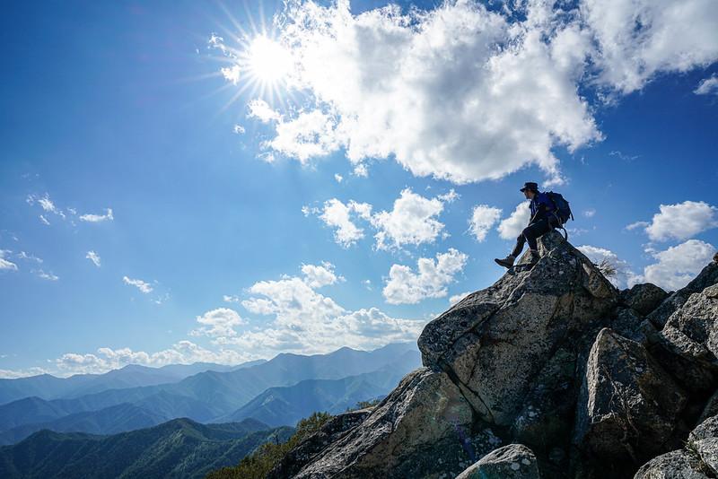 十勝剣山の山頂