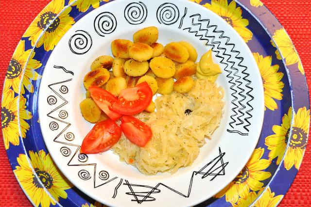 Winteressen: Bio-Sauerkraut und Kartoffelgnocchi ... Brigitte Stolle