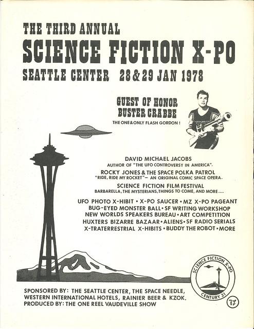 Science Fiction X-Po flyer, 1978