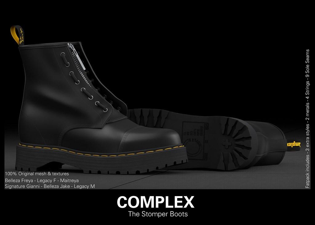 [COMPLEX] THE STOMPER BOOTS