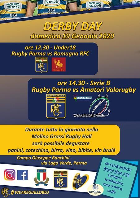 Locandina derby day