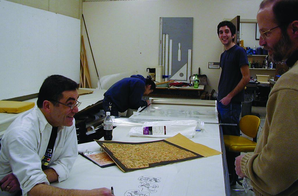 collaborative project, 2003