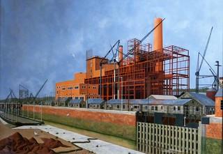 Tristram Hillier, Portishead Power Station