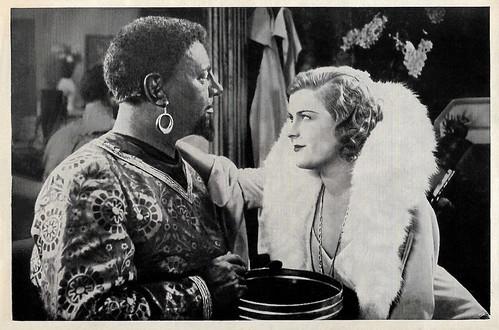 Emil Jannings and Renate Müller in Liebling der Götter (1930)