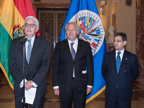 Novo Representante Permanente da Bolívia apresenta credenciais