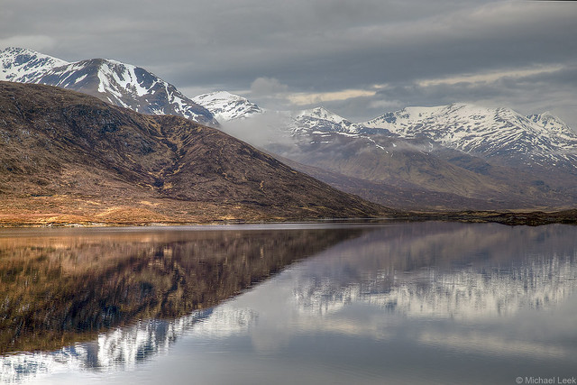 Loch Cluanie and the Cluanie Forest; Glen Sheil, Western Highlands, Scotland