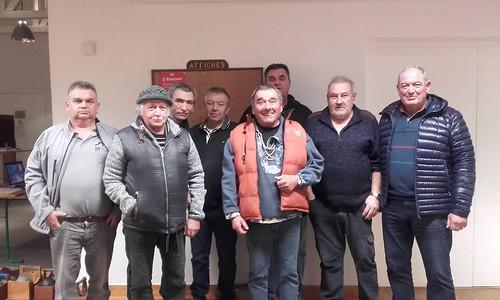 12/01/2020 - Saint Jean du Doigt : Concours de boules plombées en doublette mêlée