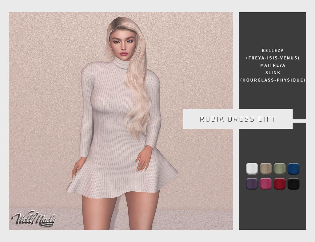 [WellMade] Rubia Dress GIFT