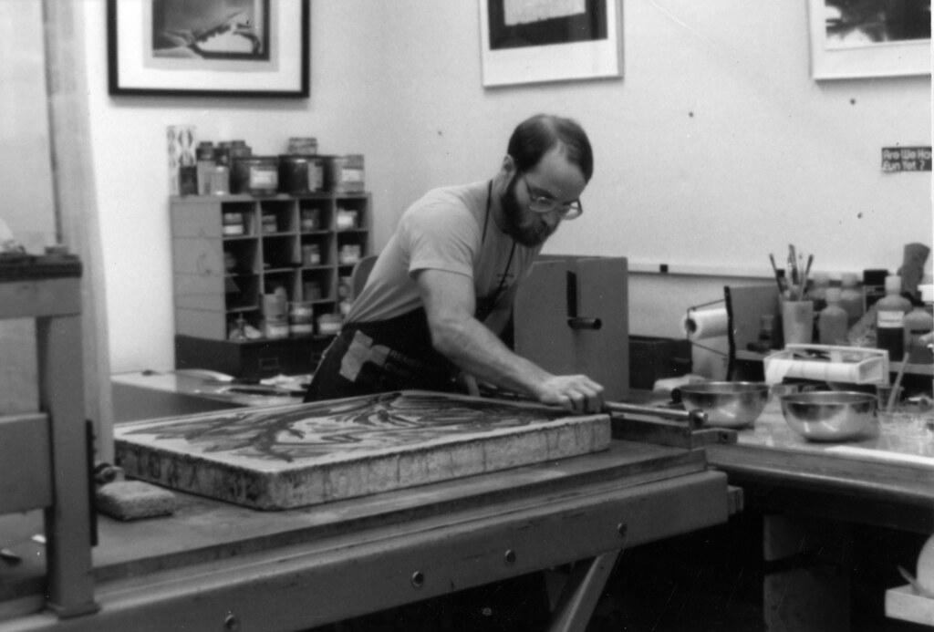 Richard Finch at N.E.W. 1979