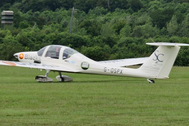 G-OSPX AeroExpo Wycombe Air Park 15 June 2019