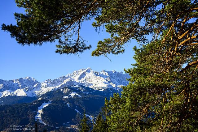 Morning light at Alpspitze