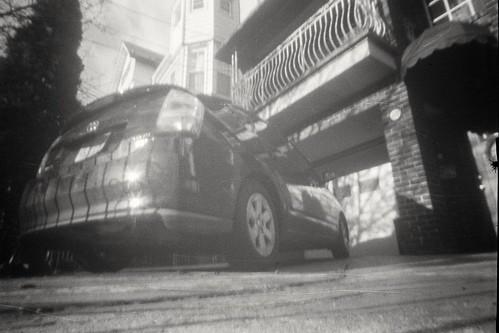 First go with a pinhole camera.
