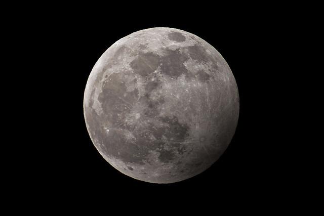Penumbral Lunar Eclipse 2020-01-10