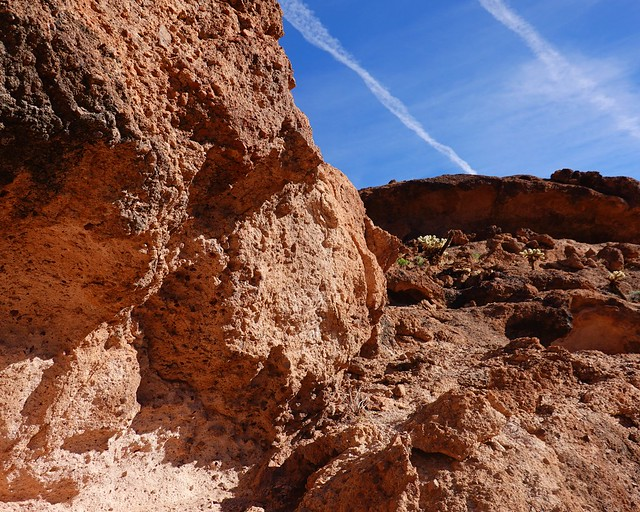 Overhang with Falling Rocks SR601893