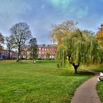 Winckley Square Gardens in Preston