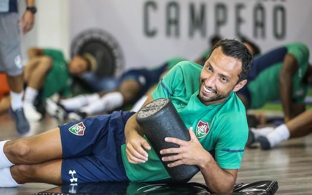 Treino do Fluminense - 14/01/2020