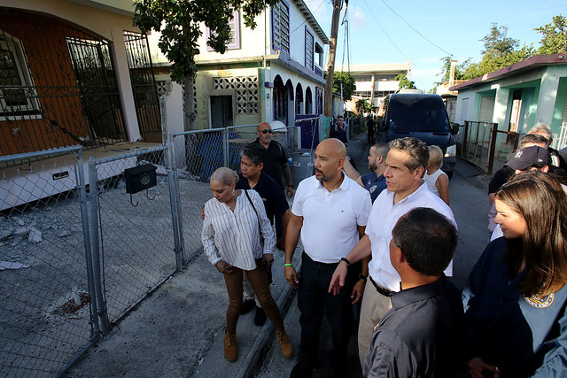 Governor Cuomo and Delegation Assess Damage at Costa Sur Power Plant and Tour Severely Damaged Homes in Municipality of Guanica