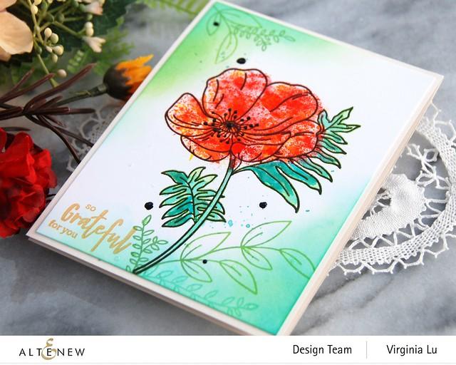 Altenew-Paint-A-Flower-Poppy-Virginia#3