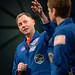 Astronauts McClain and Hague at NASM (NHQ202001140008)