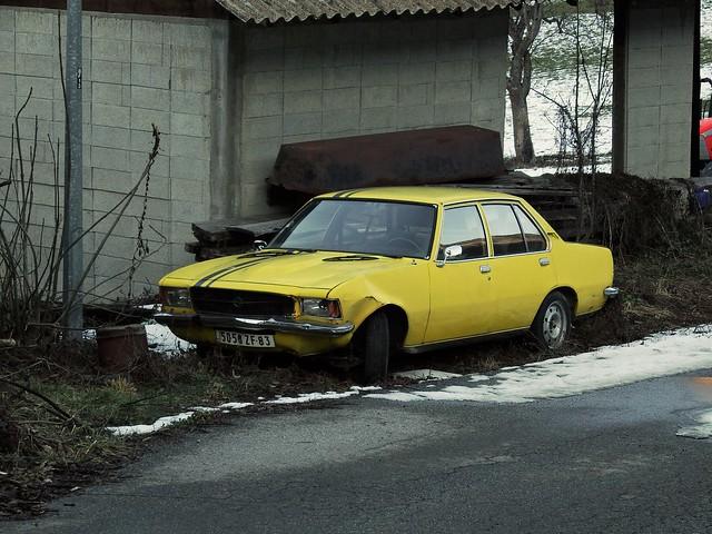 Opel Rekord D 2.1 Diesel Aime / Macot (73 Savoie) 12-01-20a