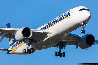 Singapore Airlines Airbus A350-941 cn 385 F-WZHK // 9V-SHN