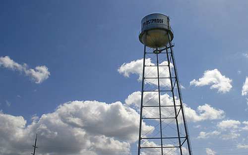 watertowers watertanks landmarks landscape frostproof florida fl unitedstates usa us america polkcounty