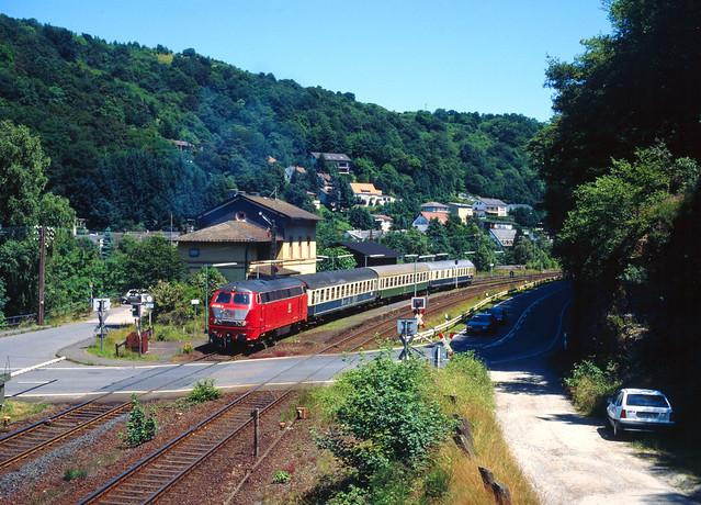 Lahnbahn-Idylle