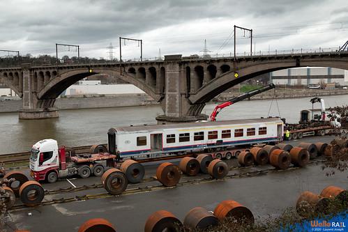 m4 sncb ligne 125 renory port 14 janvier 2020 laurent joseph wallorail be